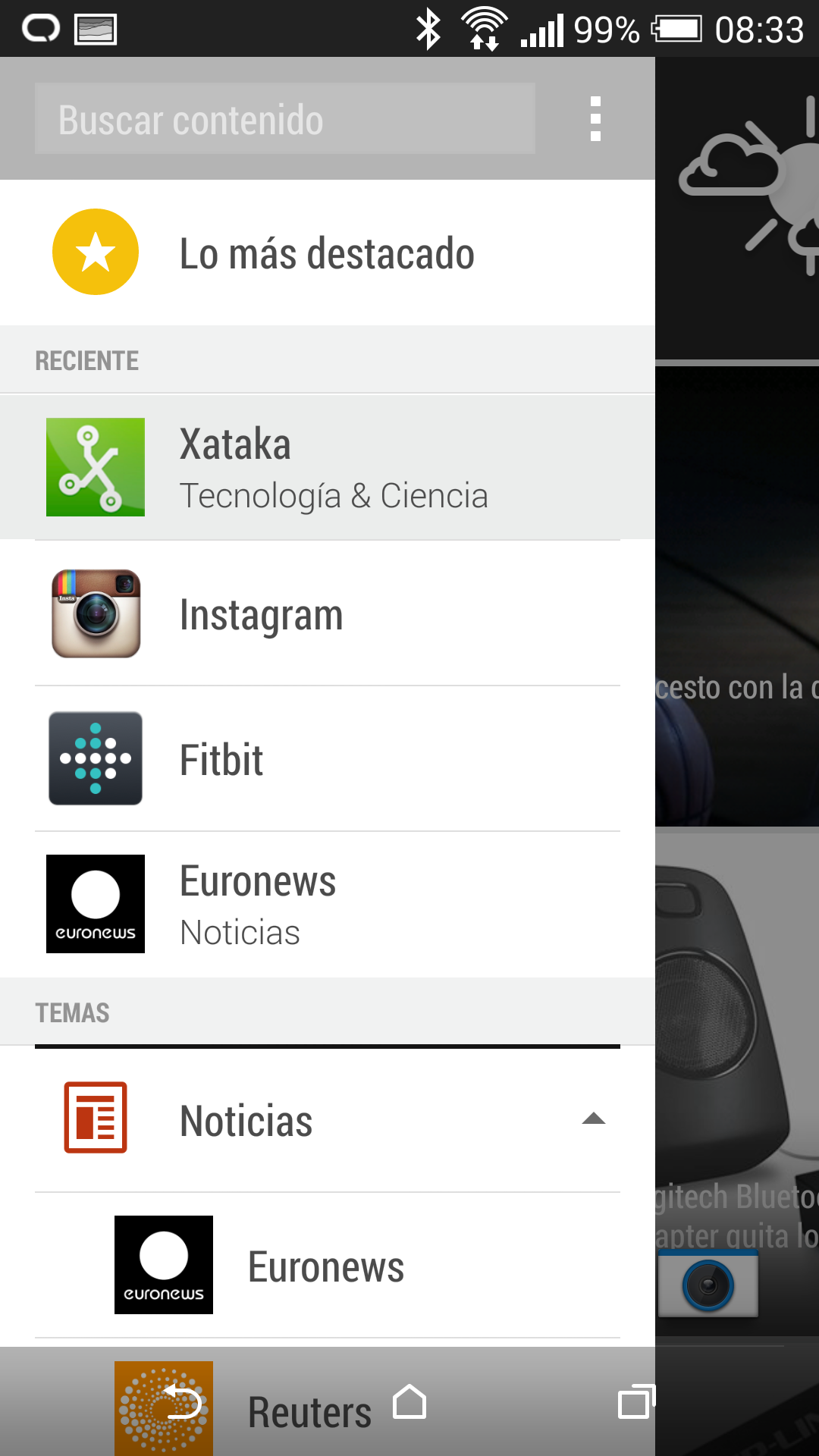 Foto de Interfaz HTC One M8 (1/6)