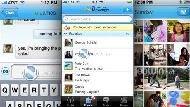 Windows Live Messenger para iPhone ya se puede descargar en la App Store