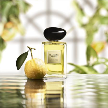 Armani Privé Orangerie Venisse: la nueva fragancia de superlujo que nos lleva Venecia