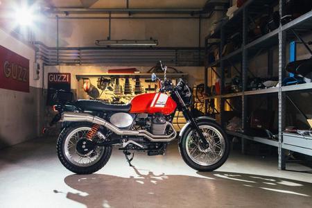 Moto Guzzi V7 Custom Kit Scrambler