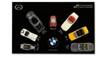 Colección 75º aniversario BMW de siete modelos a escala