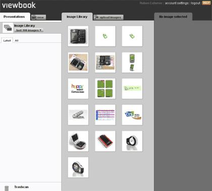 ViewBook, presentaciones de tus imágenes