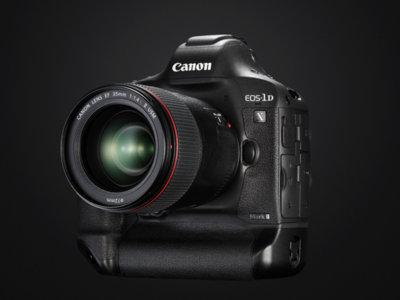 Canon EOS 1DX Mark II: llega una renovación con el GPS y el vídeo 4k como principales novedades