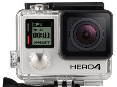 Oferta Flash: cámara deportiva GoPro HERO4 Black Edition Adventure por 239 euros