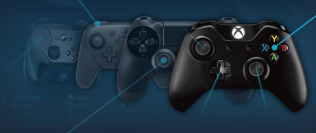 El 64 De Los Jugadores De Steam Apuestan Por Los Mandos De Xbox