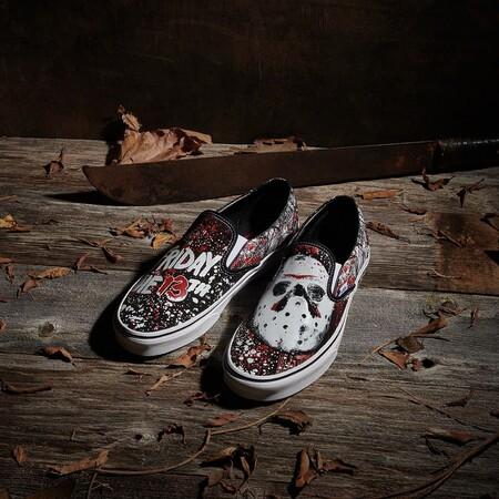 Vans lanza para Halloween una colección de zapatillas inspirada en los clásicos del cine de terror