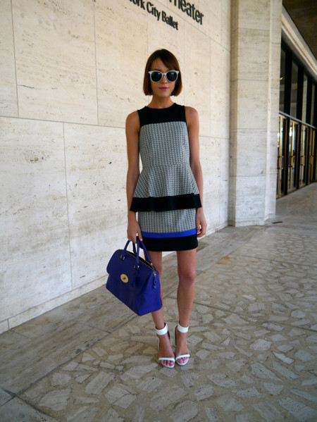 Tibi Look blogger