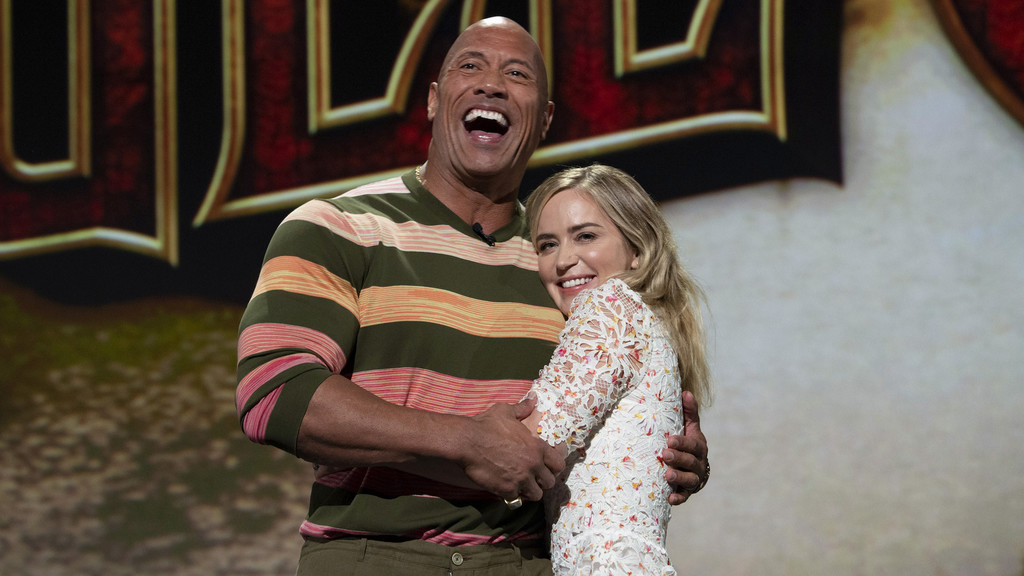 Dwayne Johnson y Emily Blunt repiten juntos en la adaptación de 'Ball and Chain', sobre una pareja de superhéroes en crisis