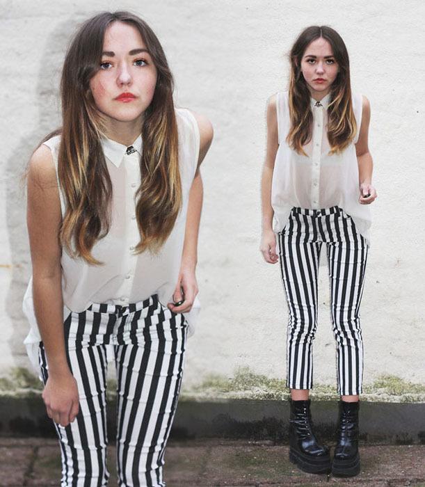 Clara Rayas moda pantalón