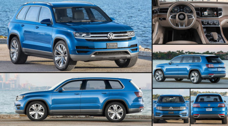 Volkswagen Crossblue Concept 2013 Infographic