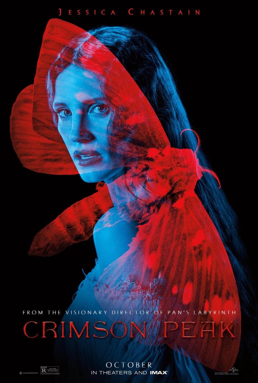 Foto de 'La Cumbre Escarlata', carteles de la película de Guillermo del Toro (9/12)