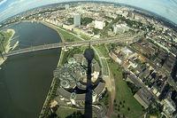 Las mejores vistas de Düsseldorf: la Torre de Televisión