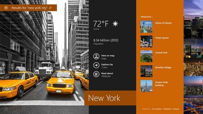 Búsquedas en Windows 8.1