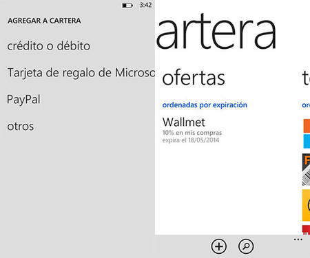 Cartera Windows Phone