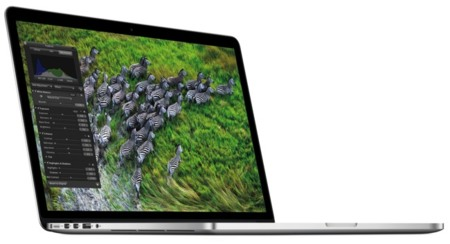 MacBook Pro con pantalla Retina Display