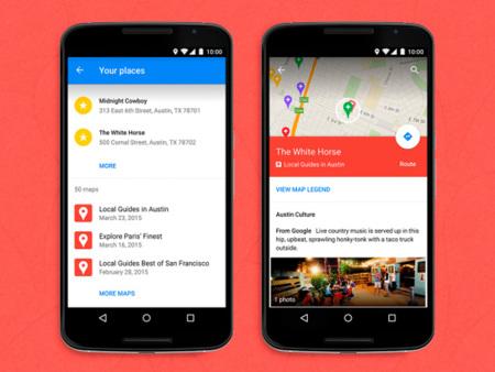 Google Maps ya permite ver los mapas personalizados de Google My Maps