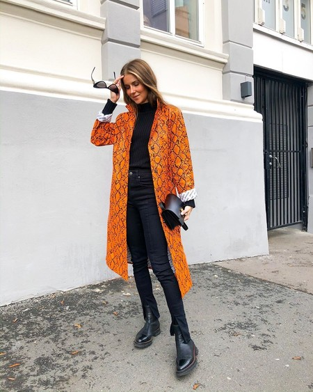 Street Style Naranja Aw 2019 10
