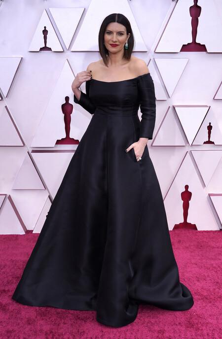 Laura Pausini Valentino Oscar 2021