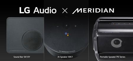 Calidad Hi-Res Audio: eso es lo que quieren ofrecer LG y Meridian Audio con sus nuevos altavoces y  barra de sonido