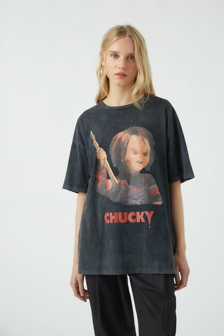 Pull Bear Halloween 2020 Camiseta 05