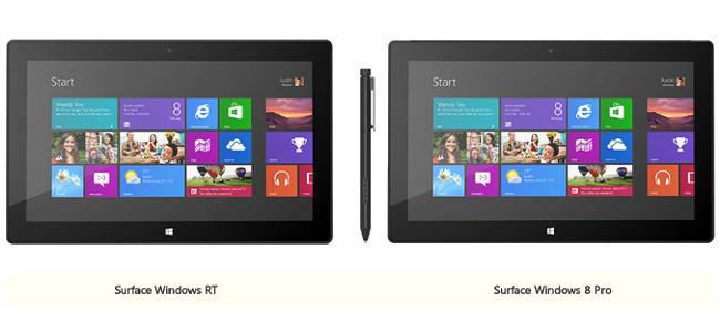 Surface RT o Pro
