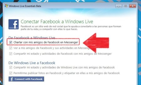 Conectando el chat de Facebook en Messenger