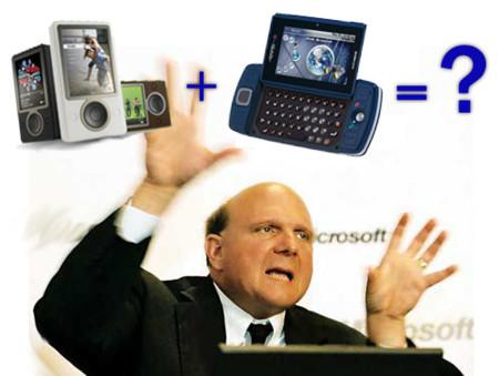 Microsoft piensa en el Zune Phone