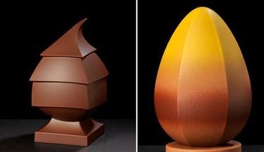 Enric Rovira y sus originales huevos de pascua