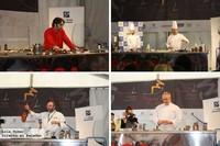 Showcookings  de Tony García, Antonio Carmona, Juanjo Pérez y Eneko Fernández en Degustho Almería