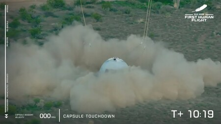Blue Origin Mision Ns 16 New Shepard Vuelo Jeff Bezos Espacio 6