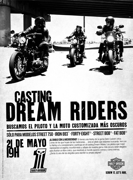 Harley Davidson Dark Custom Premiere Night