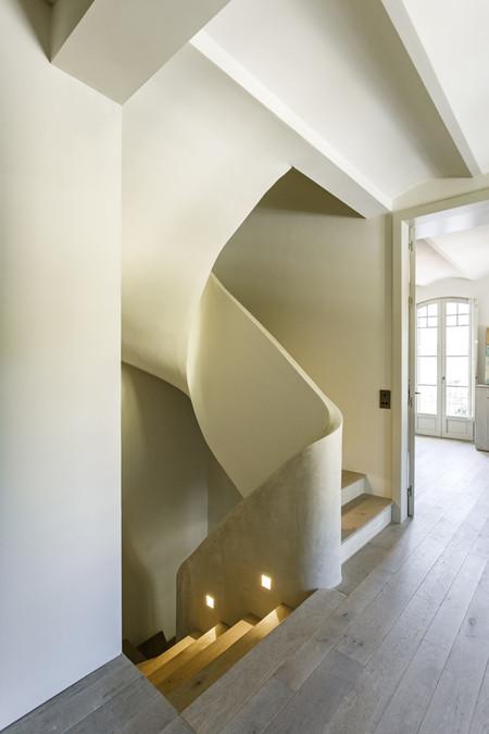 Lucia Olano Arquitecta Vivienda Unifamiliar Tres Torres Barcelona Escalera 06a7015