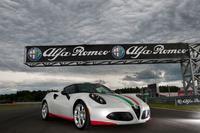 Alfa Romeo 4C, safety car de Superbikes
