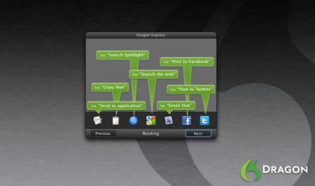 Dragon Express, el Siri para OS X