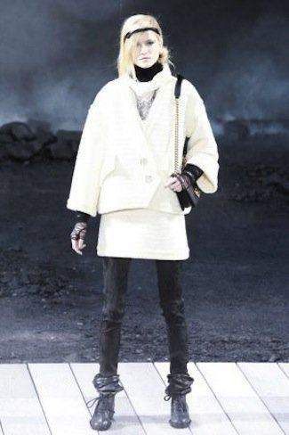 Chanel Otoño-Invierno 2011/2012 minimalismo
