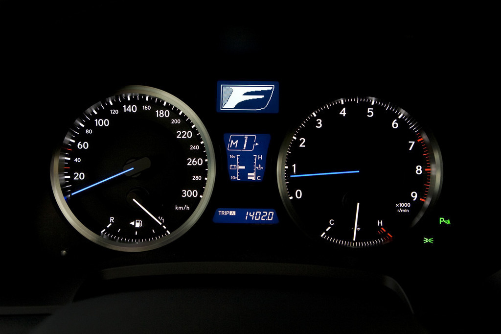 Foto de Lexus IS-F (104/111)
