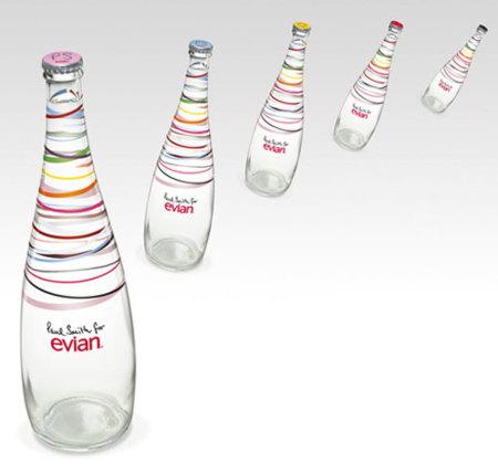 Paul Smith diseña un nuevo envase de agua Evian