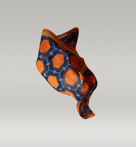 foulard sixties Massimo dutti