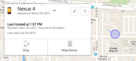 Android Device Manager, herramienta oficial para encontrar dispositivos perdidos o robados
