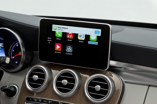 Foto de CarPlay Mercedes Benz Clase C (15/26)