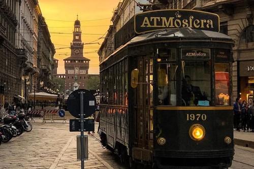 El local más chic para comer en Milán es en realidad un tranvía (e Instagram lo sabe)