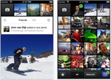 """Facebook camera, una nueva """"red social"""" de fotografía llega al iPhone"""
