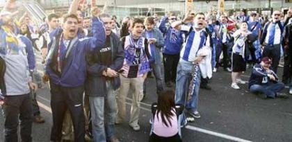 Los 400: aficionados del Espanyol  sin vuelo a Glasgow  por un fraude
