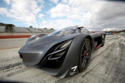 Más imágenes del Mazda Furai Concept