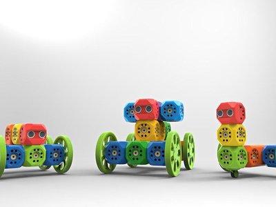 Aprender robótica y programación es cosa de niños con este curioso robot modular programable