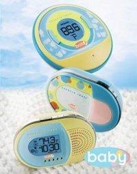 Termómetro e interfono para bebés, en un solo gadget
