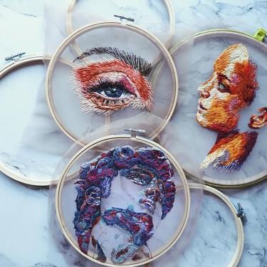El bordado es la nueva cerámica: 11 artistas a los que seguir la pista para enamorarte de esta nueva tendencia millennial