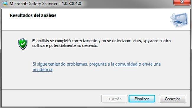 Microsoft Safety Scanner: Antivirus portable de la mano de Microsoft