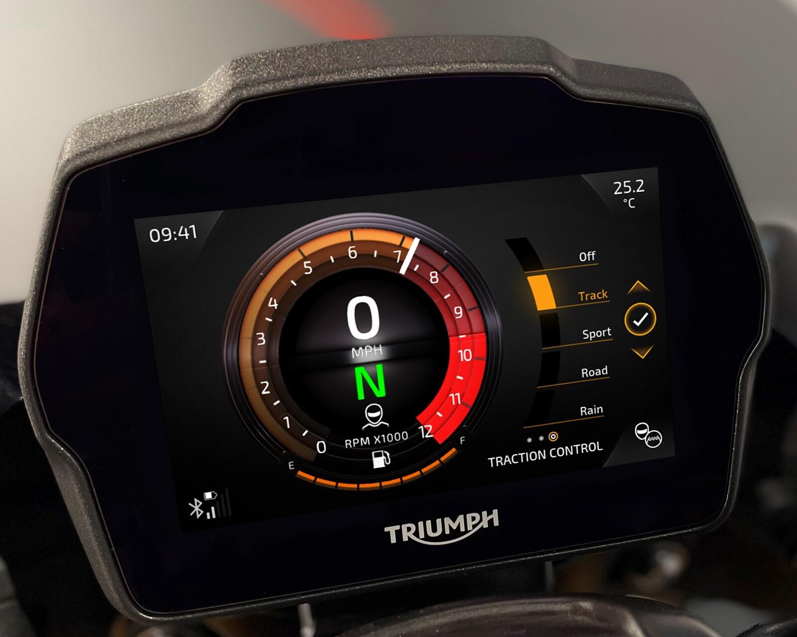 Foto de Triumph Speed Triple 1200 RS 2021 (12/71)
