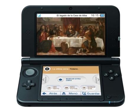 Nintendo 3DS casa de alba